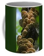 Twist Of Shrooms Coffee Mug by Christina Rollo