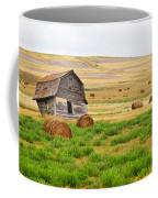 Twisted Barn On Canadian Prairie, Big Coffee Mug