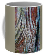 Twisted Colourful Wood Coffee Mug