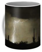 Twisted Desert Lightning Storm Coffee Mug