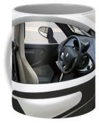 Twizy Rental Electric Car Side And Interior Milan Italy Coffee Mug