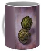 Two Artichokes Coffee Mug
