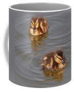 Two Baby Ducklings Coffee Mug