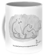 Two Bears In A Cave Coffee Mug