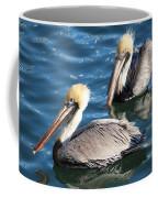 Two Beautiful Pelicans Coffee Mug