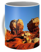 Two Big Rocks At Capital Reef Coffee Mug by Jeff Swan