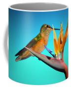 Two Birds Of Paradise Coffee Mug