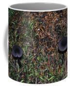 Two Black Stools Coffee Mug