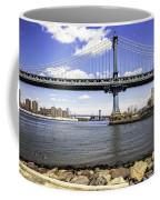 Two Bridges View - Manhattan Coffee Mug