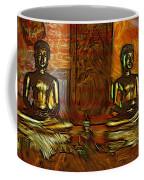 Two Buddhas Coffee Mug