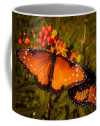 Two Butterflies Coffee Mug