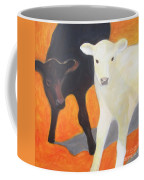 Two Calves Coffee Mug
