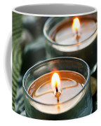 Two Candles Coffee Mug