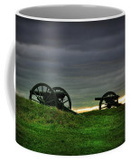 Two Cannons At Gettysburg Coffee Mug by Bill Cannon