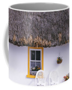 Two Chairs Outside A Cottage, County Coffee Mug