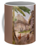 Two Chickens Two Pigs And Huts Jamaica Coffee Mug
