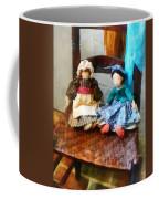 Two Colonial Rag Dolls Coffee Mug