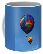 Two Colorful Balloons Coffee Mug