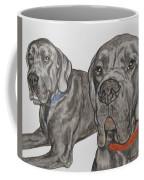 Two Cool Danes Coffee Mug