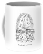 Two Cows Comment On A Bunch Of Cows Coffee Mug