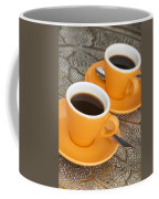 Two Cups Of Espresso Coffee Mug