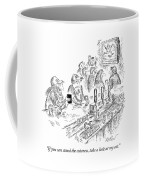 Two Dirty Dudes Are Sitting At A Bar Coffee Mug