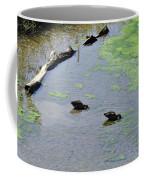 Two Eating Ducks Coffee Mug