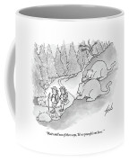 Two Fat Mountain Lions Plan The Perfect Attack Coffee Mug