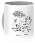 Two Firemen Are Seen With A Fire Hose Coffee Mug by David Sipress