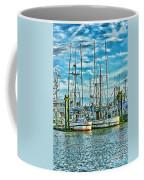 Two Fishing Boats Hdr Coffee Mug