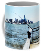 Two Fishing Poles Coffee Mug