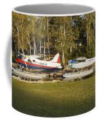 Two Float Planes On Moosehead Lake Near Greenville Maine  Coffee Mug