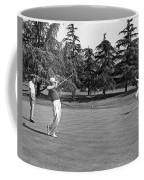 Two Golfers Body English Coffee Mug