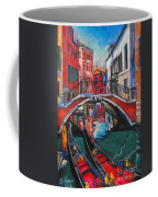 Two Gondolas In Venice Coffee Mug