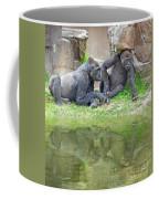 Two Gorillas Relaxing II Coffee Mug