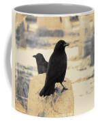 Two Graveyard Blackbirds Coffee Mug
