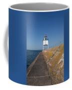 Two Harbors Mn Pier Light 10 Coffee Mug