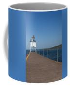 Two Harbors Mn Pier Light 13 Coffee Mug