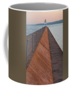 Two Harbors Mn Pier Light 6 Coffee Mug