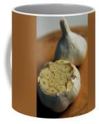 Two Heads Of Garlic Coffee Mug