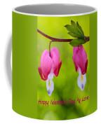Two Hearts Valentine's Day Coffee Mug