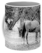Two Horses Coffee Mug