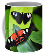 Two In The Leaves Coffee Mug