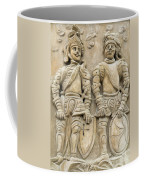 Two Knights - House Sign Coffee Mug