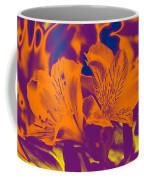 Two Lilies Gradient Coffee Mug
