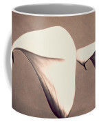 Two Lilies In Sepia Coffee Mug