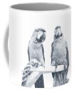 Two Macaws Coffee Mug