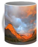 Sinopah Mountain And Two Medicine Lake Sunrise Glacier National Park Montana Coffee Mug