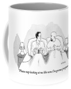 Two Men Are In Bed Together. One Coffee Mug by Emily Flake