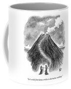 Two Men In Headdresses And Capes Stand Coffee Mug